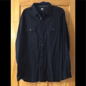Casual Substantial Fabric Button Down